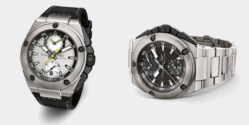 Lewis Hamilton and Nico Rosberg IWC Ingenieur Chronograph Watches