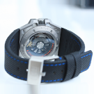 Linde Werdelin Spidolite II Titanium Blue Watch Back