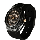 Linde Werdelin Spidolite II Black Gold Watch Side