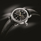 Longines Heritage Avigation Oversized Crown Chronograph Watch View
