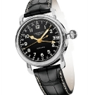 Longines Heritage Avigation Oversized Crown GMT Watch