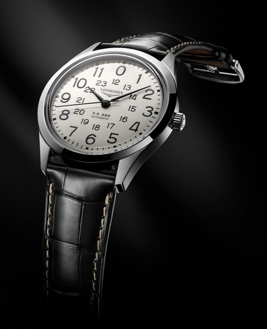 Longines Heritage Railroad Watch