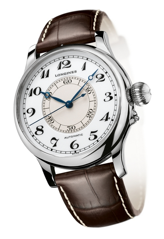 Longines Heritage Weems Second-Setting Watch Stainless Steel
