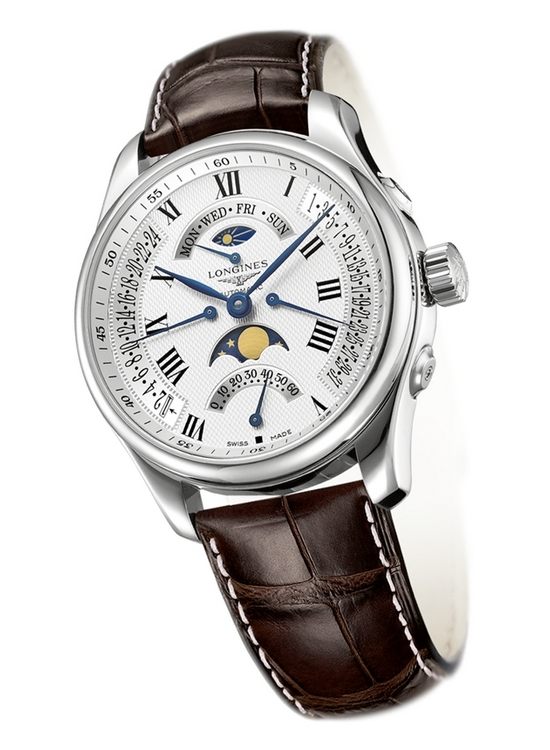 Longines Master Collection Watchmaking Tradition Quadruple Retrograde Moon Phases L2.739.4.71.3 Watch