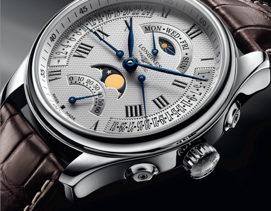 Longines Master Collection Watchmaking Tradition Quadruple Retrograde Moon Phases Watch
