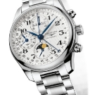 Longines Moon Phase Full Calendar Chronograph Watch L2.673.4.78.6