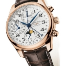 Longines Moon Phase Full Calendar Chronograph Watch L2.673.8.78.3