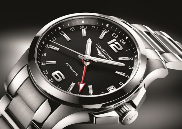 Longinest Sport Conquest 24 Hours Watch