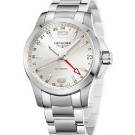 Longinest Sport Conquest 24 Hours Watch White Dial