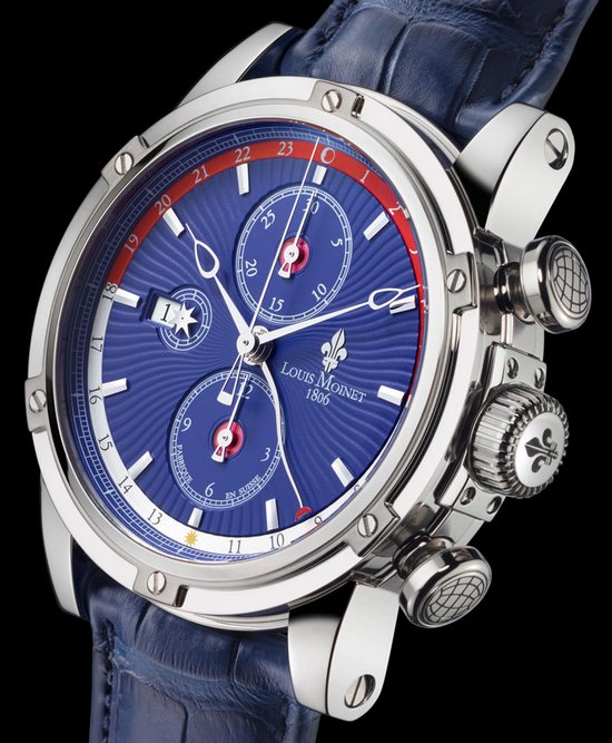 Louis Moinet Geograph Australian Limited Edition Watch Dial
