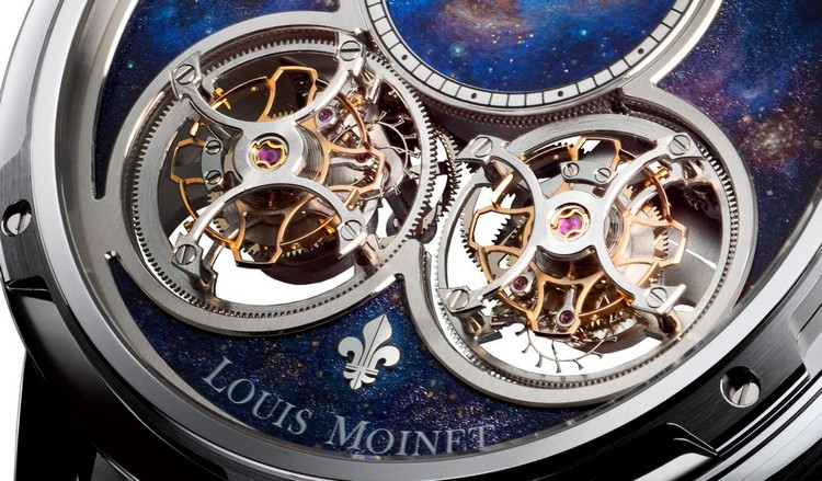 Louis Moinet Sideralis Inverted Double Tourbillon Watch Tourbillons