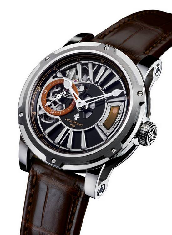 Louis Moinet Whisky Stainless Steel Watch