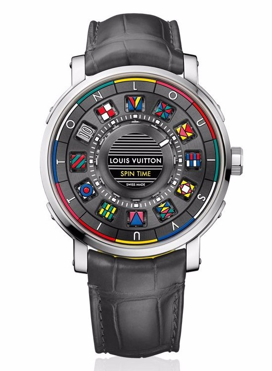Louis Vuitton Escale Spin Time Watch White Gold