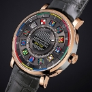 Louis Vuitton Escale Spin Time Watch Dial