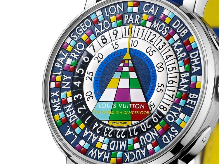 Louis Vuitton Escale Worldtime 2015 Only Watch Dial