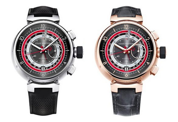 Louis Vuitton Voyagez Tambour Chronograph II Watches