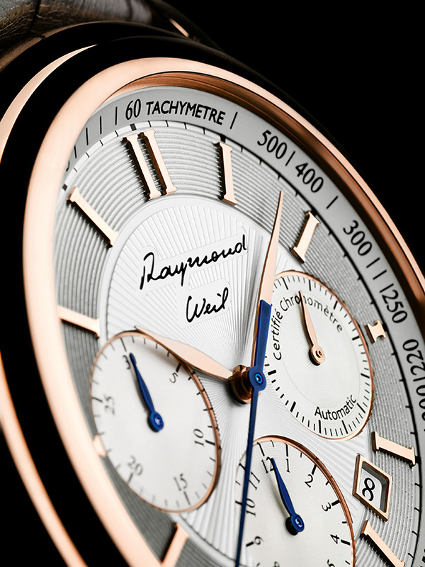 Raymond Veil Maestro Tribute to Raymond Weil Watch Dial