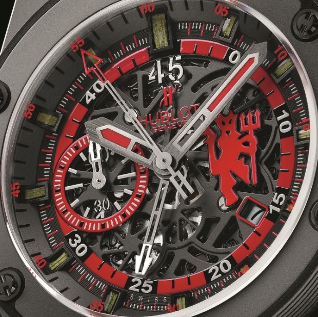 Hublot King Power Red Devil Watch Dial