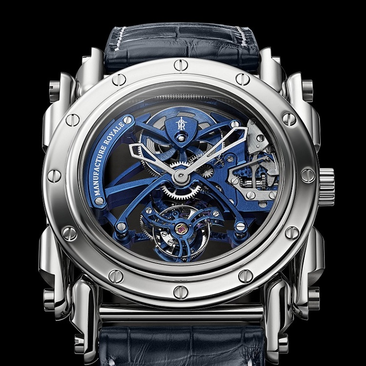 Manufacture Royale Androgyne Royale Skeleton Tourbillon Watch Dial