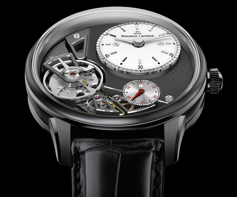 Maurice Lacroix Masterpiece Gravity Contemporary Watch Dial