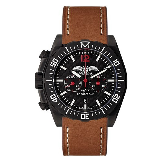 MATWATCHES Bruce Aeris Official Chronograph Watch Leather