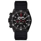 MATWATCHES Bruce Aeris Official Chronograph Watch Black Tactical