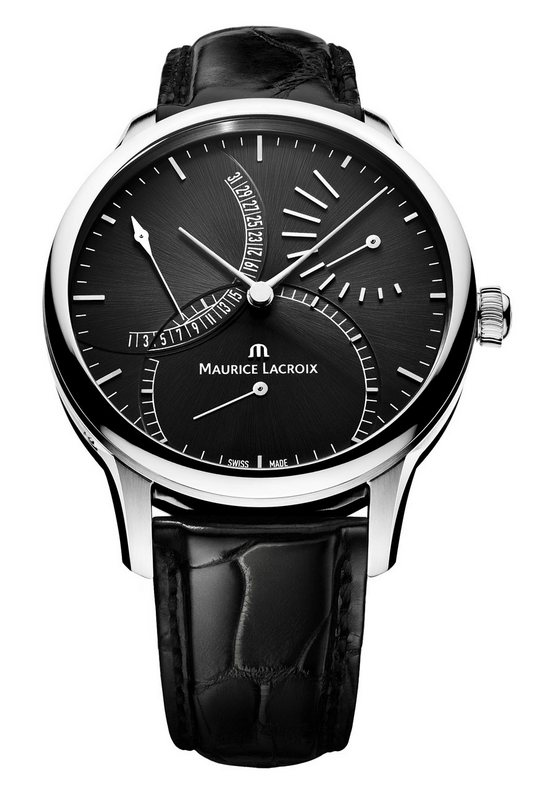 Maurice Lacroix Double Rétrograde Manufacture Automatique Watch Black