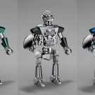MB&F Balthazar Two-Faced Robot Clocks