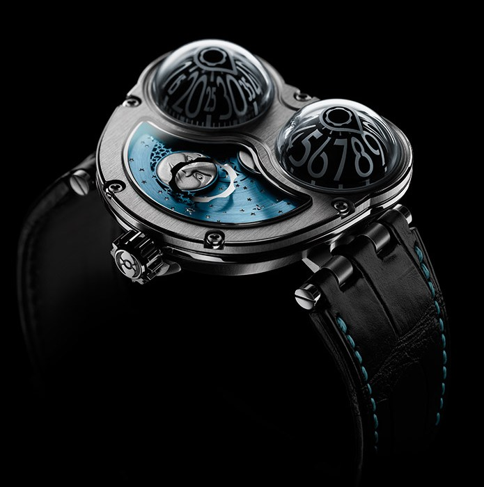 MB&amp;F Performance Art Pieces Moonmachine Limited Edition Watch Titanium