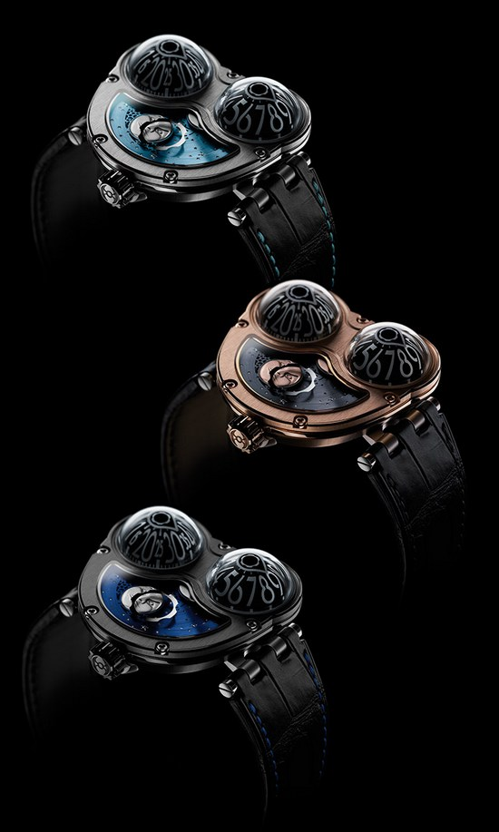 MB&amp;F Performance Art Pieces Moonmachine Limited Edition Watches