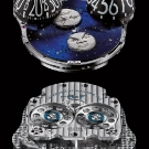 MB&F Performance Art Pieces Moonmachine Limited Edition Watch Movement