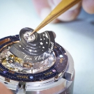 Van Cleef & Arpels Midnight Planetarium Poetic Complication Watch Back Construction