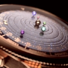 Van Cleef & Arpels Midnight Planetarium Poetic Complication Watch Dial