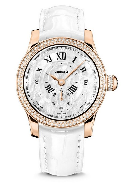 Montblanc Villeret Seconde Authentique Diamonds Watch