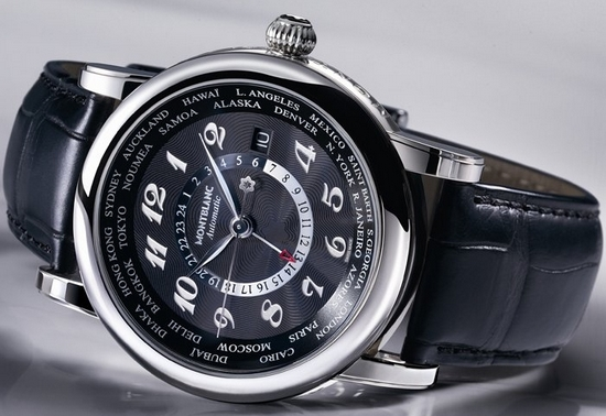 Montblanc Star Worldtime GMT Automatic Watch