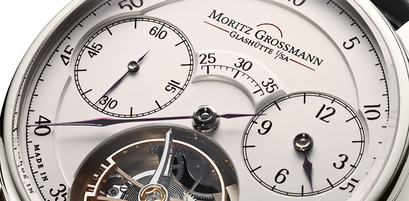 Moritz Grossman Dazzling Benu Tourbillon Watch Dial Detail