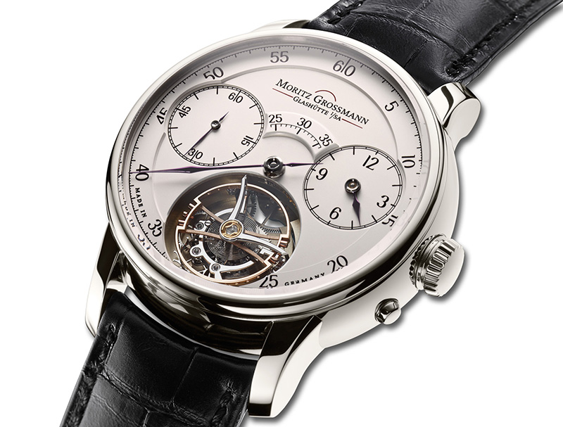 Moritz Grossman Dazzling Benu Tourbillon Watch