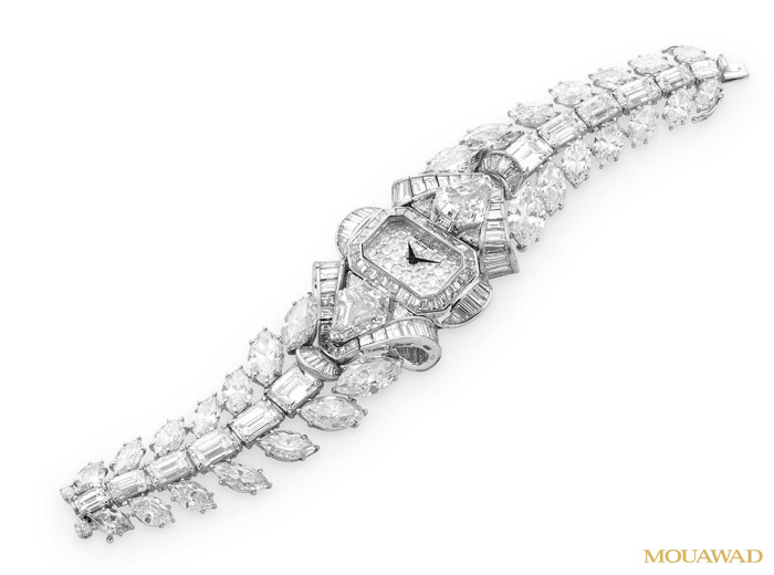 Mouawad Snow White Princess Diamond Watch