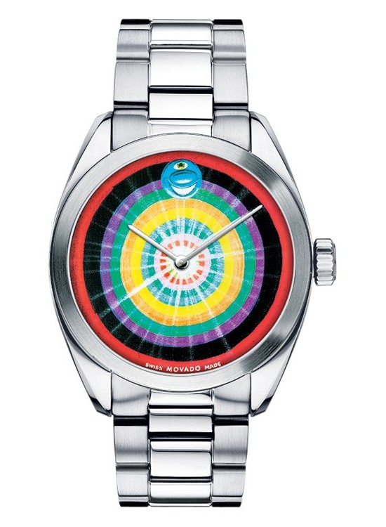 Kenny Scharf for the Movado Artists Series Staring the Star Dial Watch 0606432