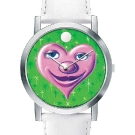 Kenny Scharf for the Movado Artists Series Heart Dial Watch 0606401