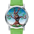 Kenny Scharf for the Movado Artists Series Tree Dial Watch 0606400