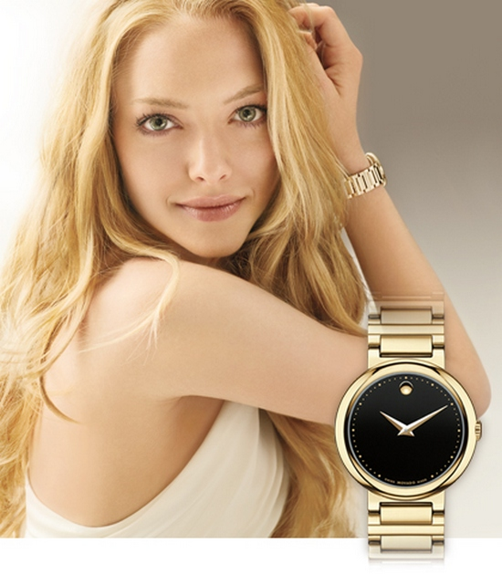 Movado Concerto Watch 0606420 Amanda Seyfried