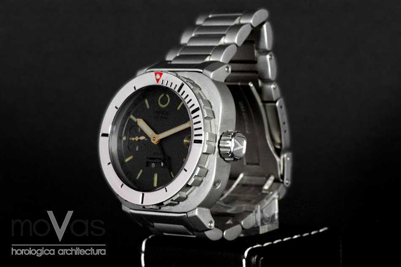 MoVas AG Diver Big Crown Watch