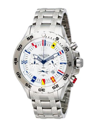nautica-nst-chrono-flags-metal-front-view