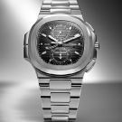 Patek Philippe Nautilus Travel Time Chronograph Ref. 5990/1A Watch Front