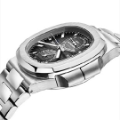 Patek Philippe Nautilus Travel Time Chronograph Ref. 5990/1A Watch Profile