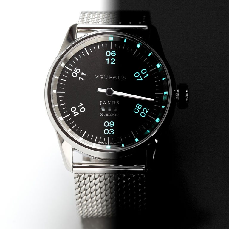 Neuhaus Janus DoubleSpeed Watch Light/Dark
