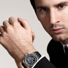 Leo Messi with Audemars Piguet Royal Oak Chronograph Watch