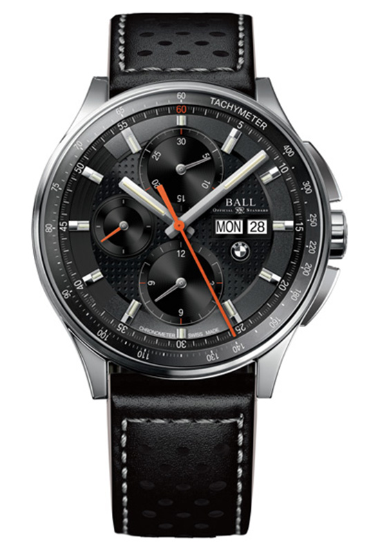 Ball for BMW Chronograph Leather Strap Watch