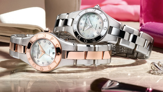 Baume et Mercier Linea Collection Linea 10113 and 10114